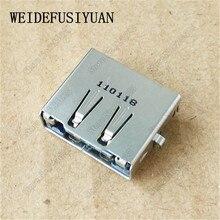 Conector de toma de corriente con USB para placa base portátil para Lenovo Zhaoyang K46 K46L K46G K46A eSATA USB