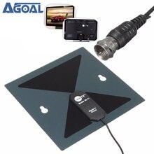 X-71 HD Digitale Indoor HDTV-TV-ANTENNE Amplified Antenne Signal Empfänger DTV HD VHF UHF
