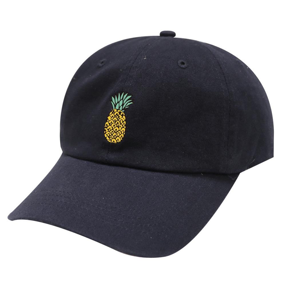 Кепка унисекс с ананасом кепка солнцезащитным козырьком регулируемая хлопковая