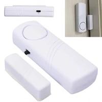 Blanc 120dB unite dalarme sans fil maison securite porte fenetre entree systeme dalarme antivol capteur magnetique systeme de securite dispositif