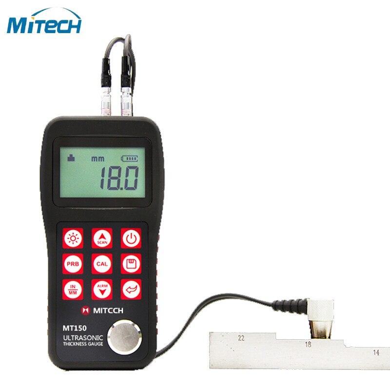 Medidor de espesor ultrasónico MT150