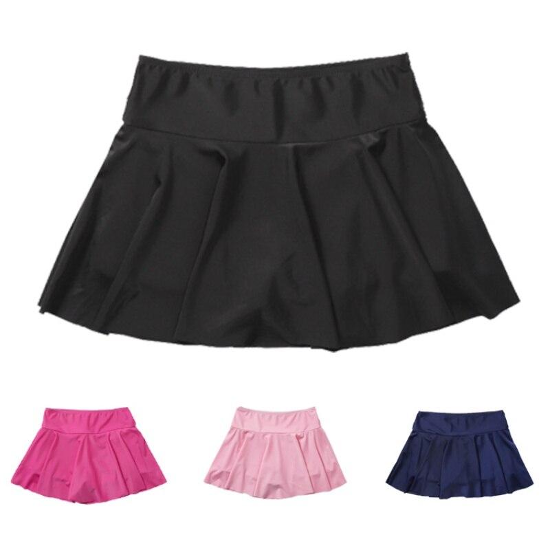 Faldas para natación conservadoras de verano para playa, traje de baño de mujer con suela alta, parte inferior atlética, traje de baño transpirable Anti-caminar