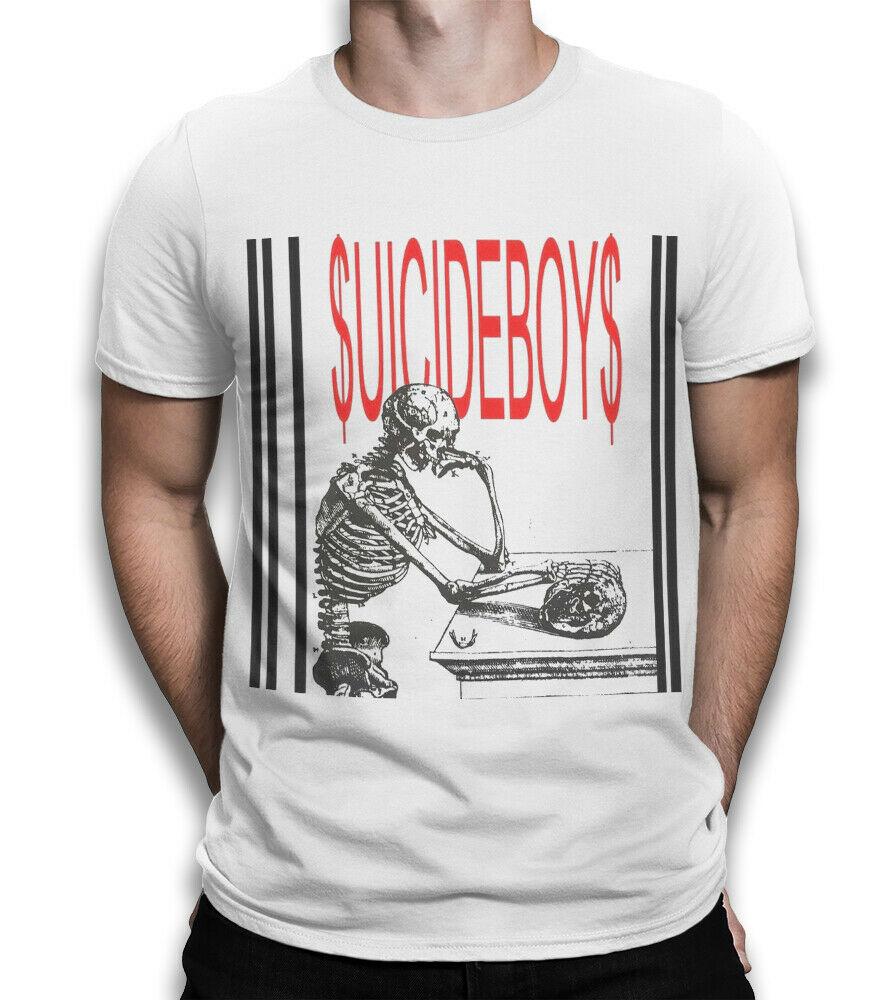 Camiseta de Rap de Suicideboys, Camisa de algodón Premium $ uicideboy novedad Cool Tops hombres Camiseta de manga corta