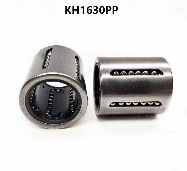100 قطعة/الوحدة KH1630PP 16 مللي متر مصغرة الكرات الطولية الضغط الخطي البطانة ل رمح cnc أجزاء 16x24x30 مللي متر KH PP