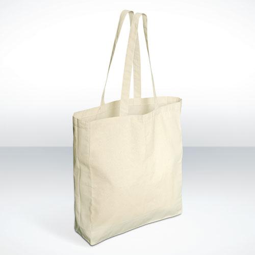 OIVEFEET TCS010,100pcs,38X42X10cm,Custom Nature Cotton Bags for Promotion,Cotton Shopping Bag,Custom Size Logo Accept