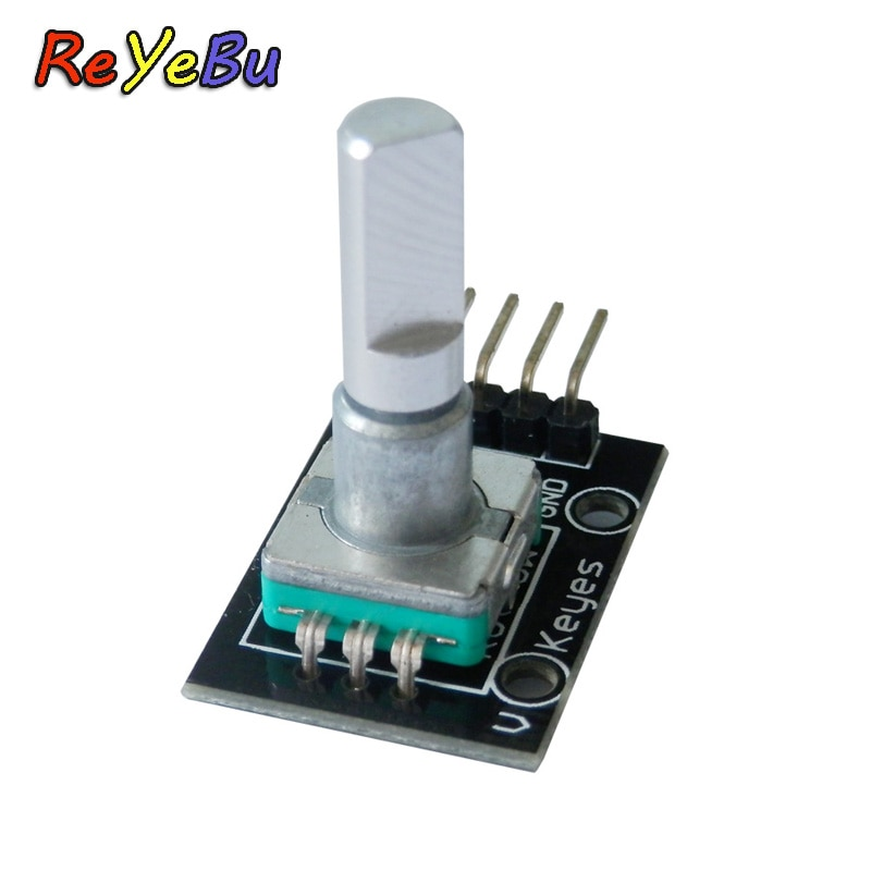 2pcs/lot 360 Degrees Rotary Encoder Module For Arduino Brick Sensor Switch Development Board With Pins