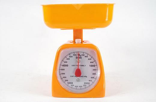 2019 nova Cozinha ferramentas de Medição de Peso 1-10 kg Balanças de bancada em aço Inoxidável balança Mecânica balança de mola Bandeja