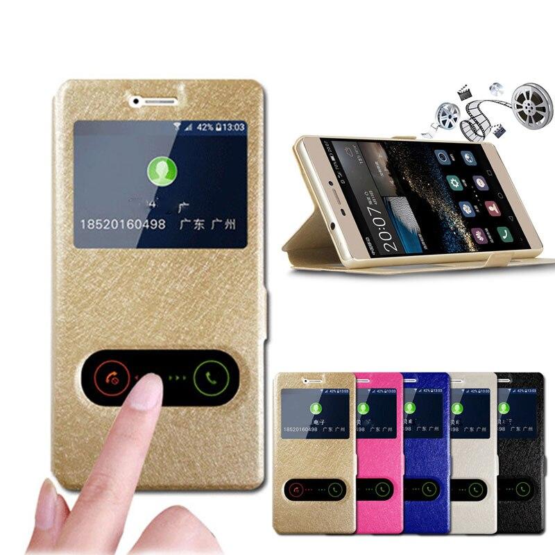 Funda de cuero para Samsung A30 ventana con Vista de respuestas para Samsung Galaxy A70 A50 A20 A10 Funda de teléfono Funda A 30