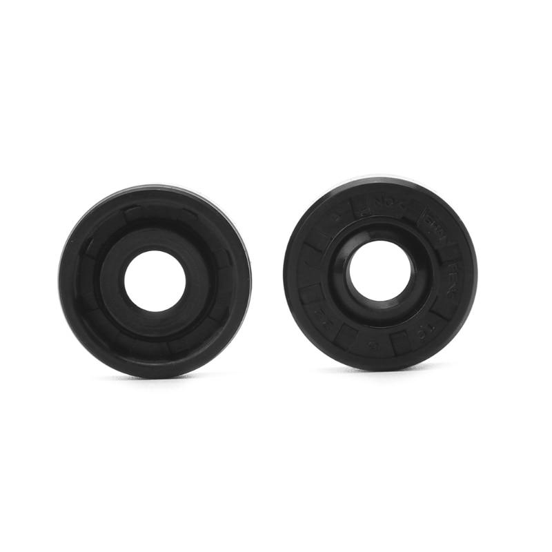 2pcs 8x22x7mm Wearable Breadmaker Sorbet Machine Blender Repair Parts Oil Seal Ring