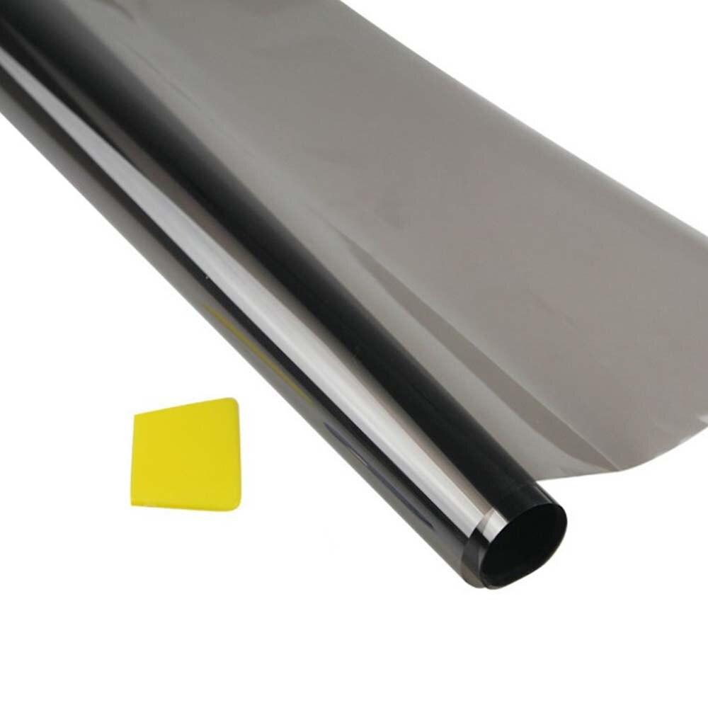 75cmx6M Universal Car Van Window Tint Film Sticker Sun Block Heat Solar Protection Sunshade Protector Cover