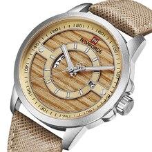 NAVIFORCE Top marque montres militaires hommes décontracté en cuir Sport Quartz semaine montres bracelet homme horloge Relogio Masculino