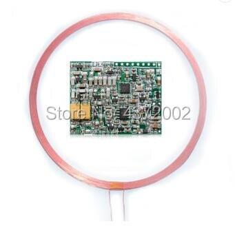 FDX-B ISO11784/85 protocolo 134,2 KHz lector rfid 125khz TTL microcontrolador soporte EM4150 EM4305 HITAG-S etiqueta de identificación de animales