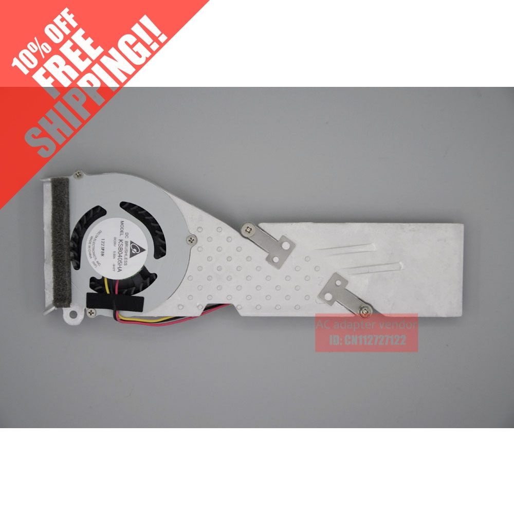 Для LENOVO IdeaPad S10-3 S10-3c алюминиевый вентилятор радиатора KSB0405HA-9H77 +