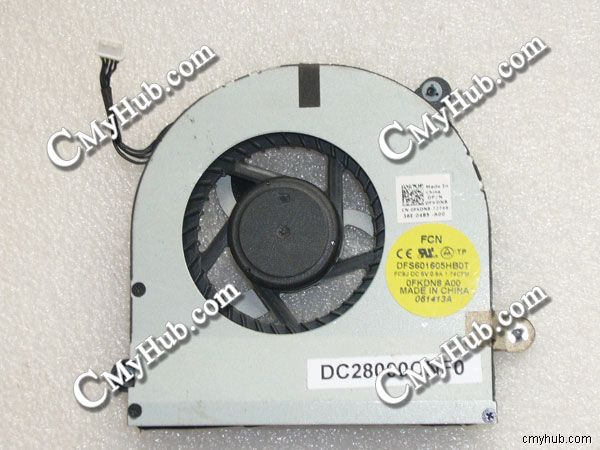 Для Dell Alienware M17x R3 R4 R5 GPU Вентилятор охлаждения DFS601605HB0T DC28000CNF0 0FKDN8 DC28000BGF0 0THPDJ DC280009AF0 04K1MM