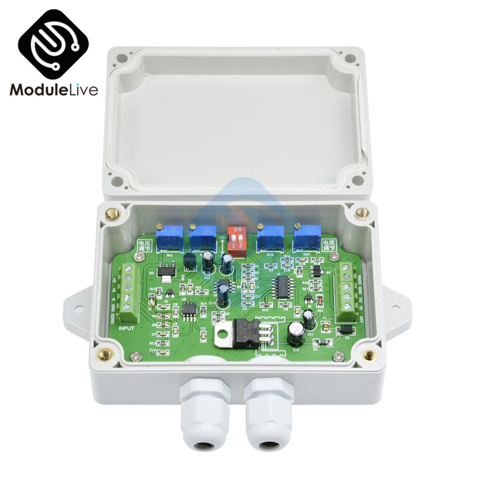 Датчик взвешивания модуль усилителя нагрузки весовой датчик усилитель датчик нагрузки DC 12V 24V 4-20ma