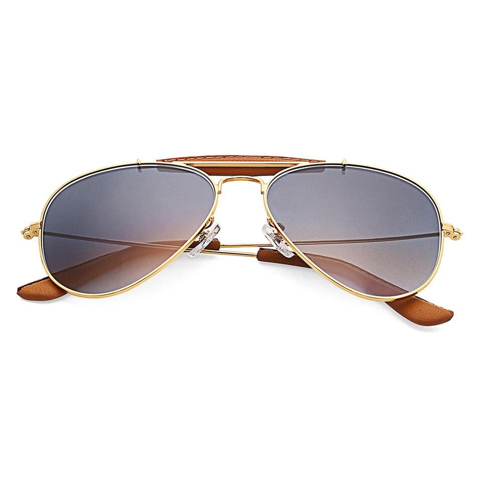Óculos de sol vintage espelhado, óculos de sol vintage de uso externo, masculino e feminino, com lente de vidro degradê 2019