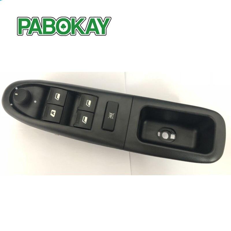Interruptor de ventana eléctrico, delantero, Izquierdo, electrónico, 6554CF 6554.CF para Peugeot 406 8B Baujahr 1995-2004
