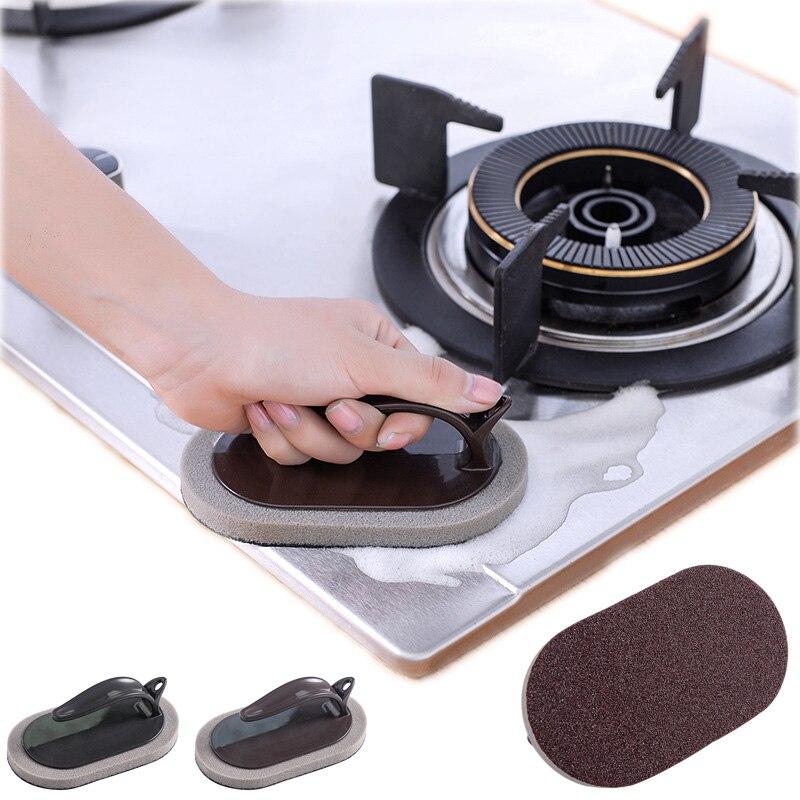 1 unidad de esmeril mágico cepillo esponja para cocina olla eliminación de óxido cepillo limpiador decaleado esponja limpiadora de melamina borrador
