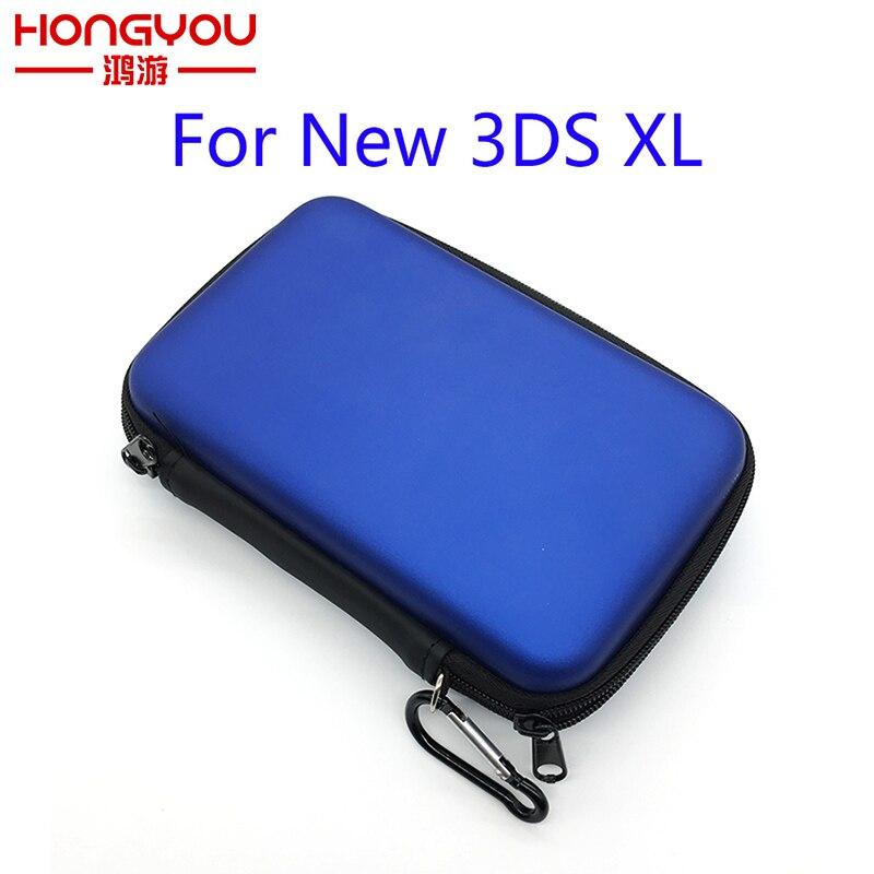 10 pièces pour Nintendo New 3DS XL/3DS LL/3DS XL EVA peau porter coque de protection rigide