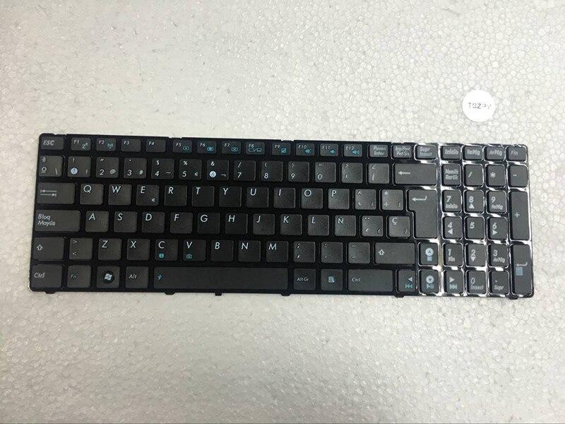 Nuevo SP español teclado para ASUS K52 K52F K52DE K52J K52N K52JC K52JE X61 N61 N61JA G60 G51 G53 K53S G72J negro con marco