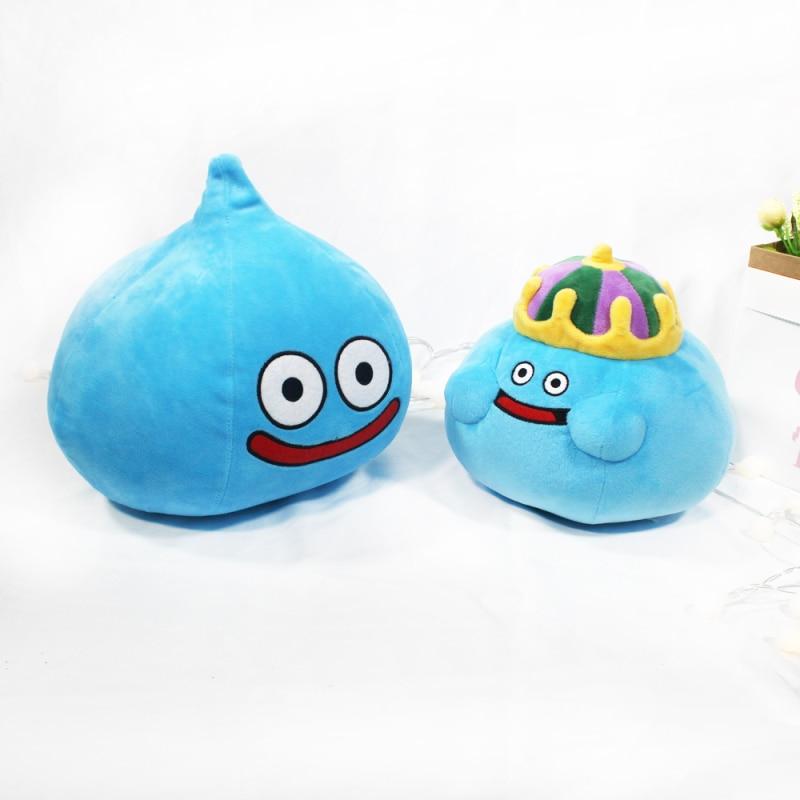 20/26cm New Game Dragon Quest Smile Slime Plush Toys Cartoon Anime Plush Stuffed Toys Baby Kids Birt