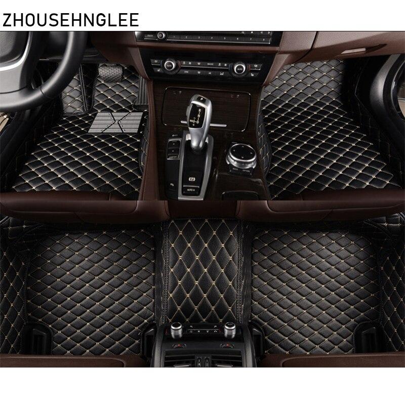 zhoushenglee car floor mats for Infiniti QX70 2013 2014 2015 2016 2017 2018 Custom foot Pads automobile carpet car covers