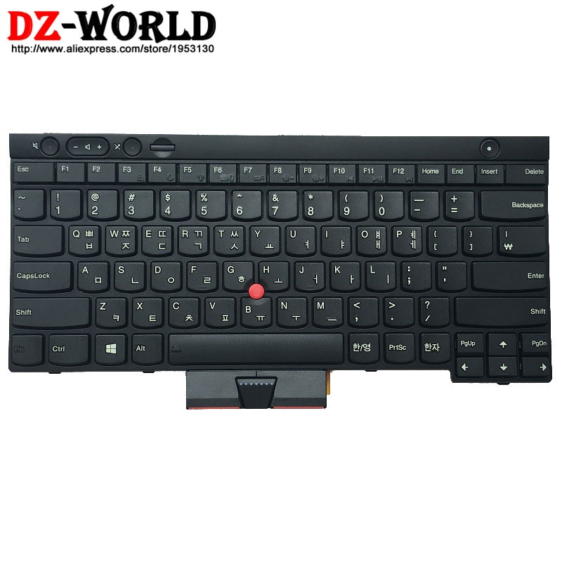 Nuevo Original para Thinkpad L430 L530 T430 T430i T430S T530 T530i W530 coreano Teclado 04X1309 04X1233 04X1347 0C01992