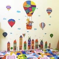 Autocollant mural creatif moderne maison enfants chambre salle de bain cuisine decoration murale mode Art mural pour salon decor