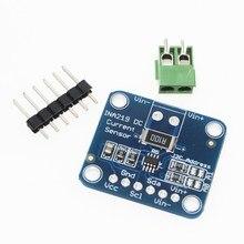 5 uds Zero drift CJMCU-219 INA219 I2C interfaz bidireccional de corriente/Módulo sensor de monitoreo de potencia