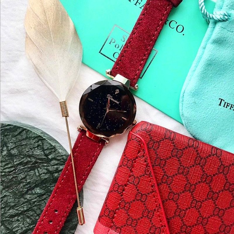 2019 Top Quality Luxury lady Crystal Watch Women Diamond Dress Watch Fashion Gift Rose Gold Watches Elegant Female Wristwatches enlarge
