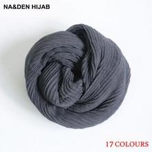 50PCS new pure color vertical stripe drape Soft warm scarf women gorgeous foulard pashmina bandana echarpe wrap fast Shipping