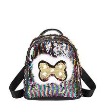 2019 nouveau sac femme brillant paillettes sac à dos femme mode sac à dos femme marée mode voyage mignon petit sac à dos