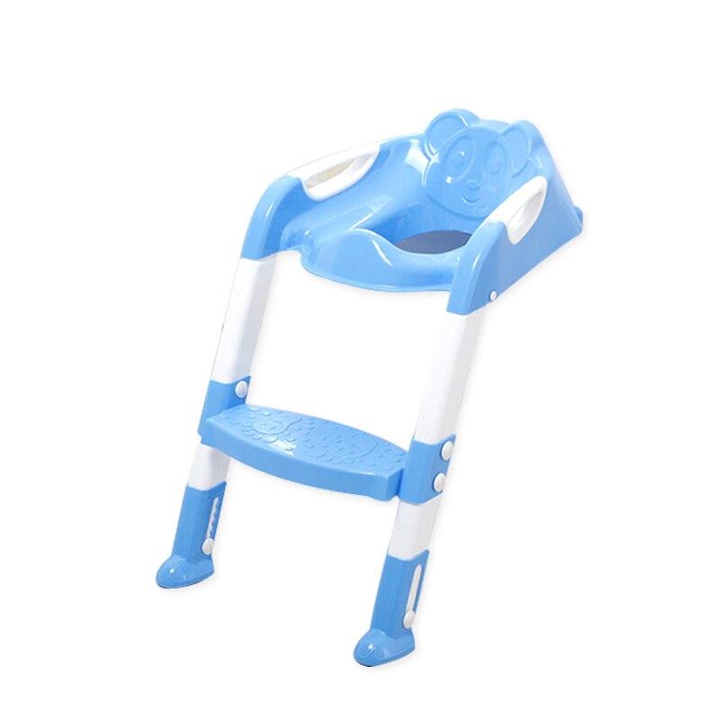Orinal plegable para bebé, silla para asiento de inodoro, asiento de entrenamiento con escalera ajustable, asientos de seguridad para entrenador, 2 colores