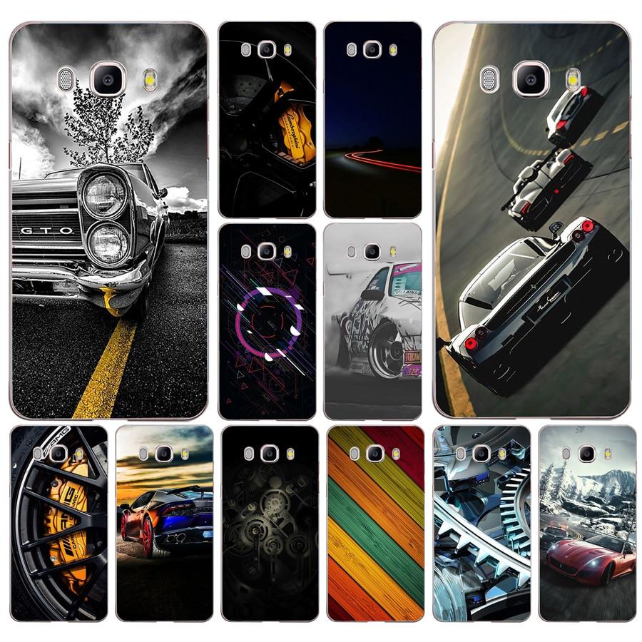236FG Nueva velocidad del coche, silicona suave, cubierta de Tpu, funda de teléfono para Samsung j3 j5 j7 2016 2017 j330 j2 j6 Plus 2018