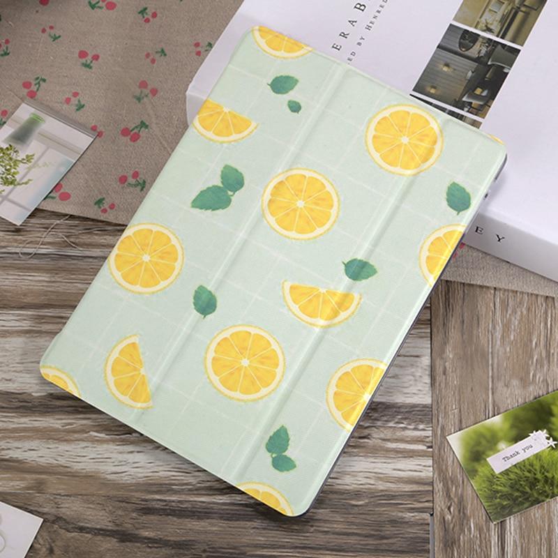 Funda con dibujo de limón Para iPad 2019, cubierta Para iPad Mini...