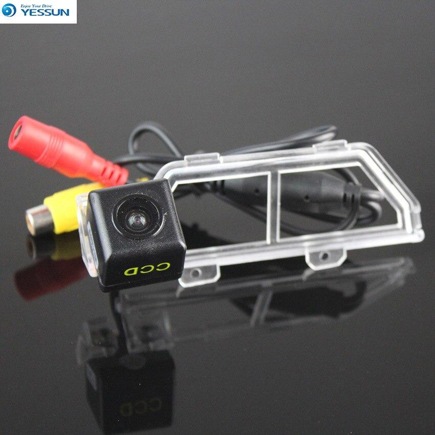 YESSUN para Toyota Verso R20 2009 ~ 2014 vista trasera de coche marcha atrás aparcamiento de alta calidad cámara impermeable visión nocturna CCD HD
