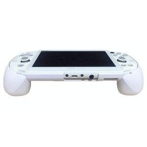 Image 1 - MASiKEN чехол с держателем для ручки подходит для PS Vita 2000 PSV 2000 сменный обновленный триггерный захват L2 R2 игровые аксессуары