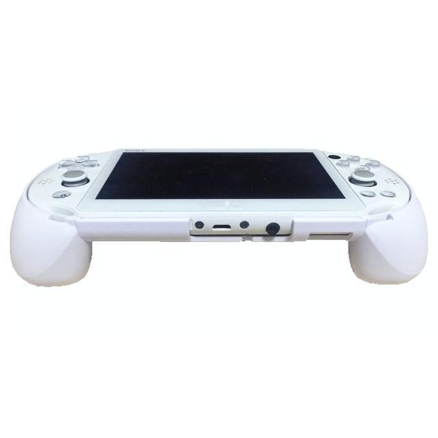 MASiKEN чехол с держателем для ручки подходит для PS Vita 2000 PSV 2000 сменный обновленный триггерный захват L2 R2 игровые аксессуары