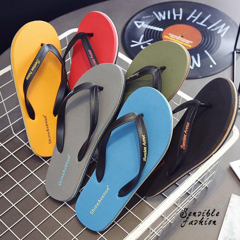¡Novedad! Chanclas de playa de verano para hombre, zapatillas suaves para exteriores, zapatos informales de goma, Zapatillas para hombre, zapatos de interior para hombre