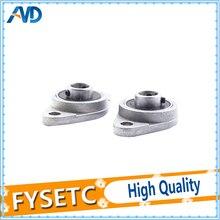 4 pcs/lot KFL08 Support de roulement pour vis à tête trapézoïdale T8 imprimantes 3D pièces montées Support en acier inoxydable