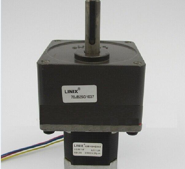 Engranaje de linix motor reductor 42BYGHD248/70JB25g1037 desaceleración nuevo original