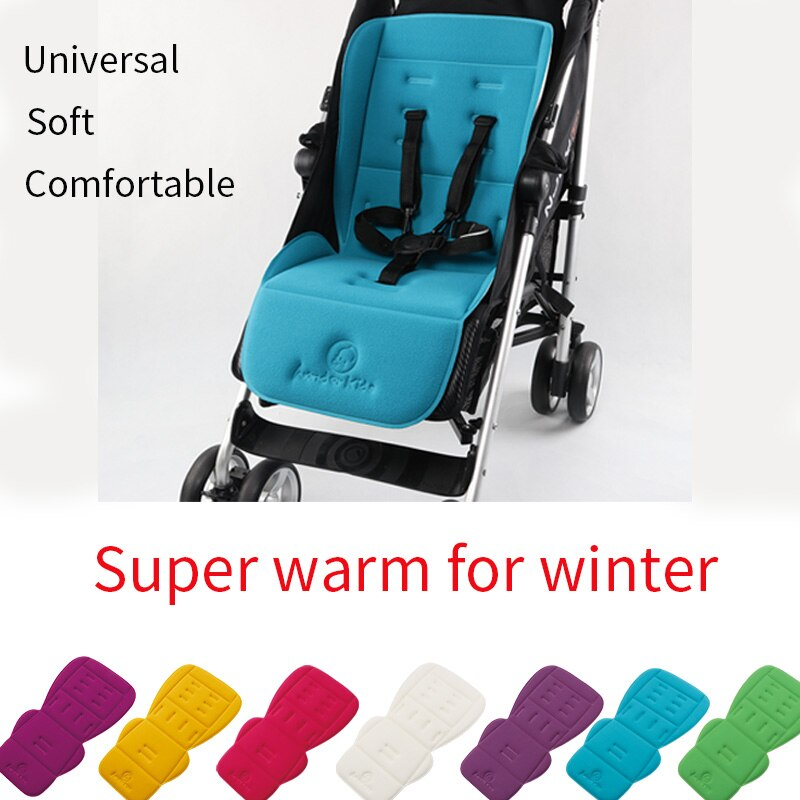 Удобная Женская универсальная подушка для сиденья, теплые и утолщенные матрасы, цветная мягкая подушка для коляски, аксессуары для коляски