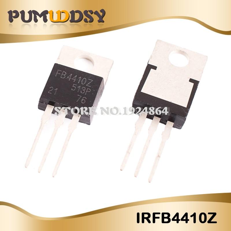 10 pces irfb4410z to-220 irfb4410zpbf to220 irfb4410 ic novo e original boa qualidade irfb4410z ic