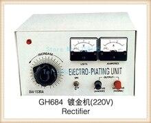 Promotion!!! Machine de redresseur de galvanoplastie, Machine de placage dor dargent de platine 30A, unité délectrodéposition