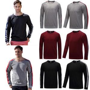 Hirigin Harajuku Long Sleeve Shirt 2018 New Mens Plain Sweatshirt Jersey Jumper  Jogger Pullover Work Casual Leisure Top Shirt