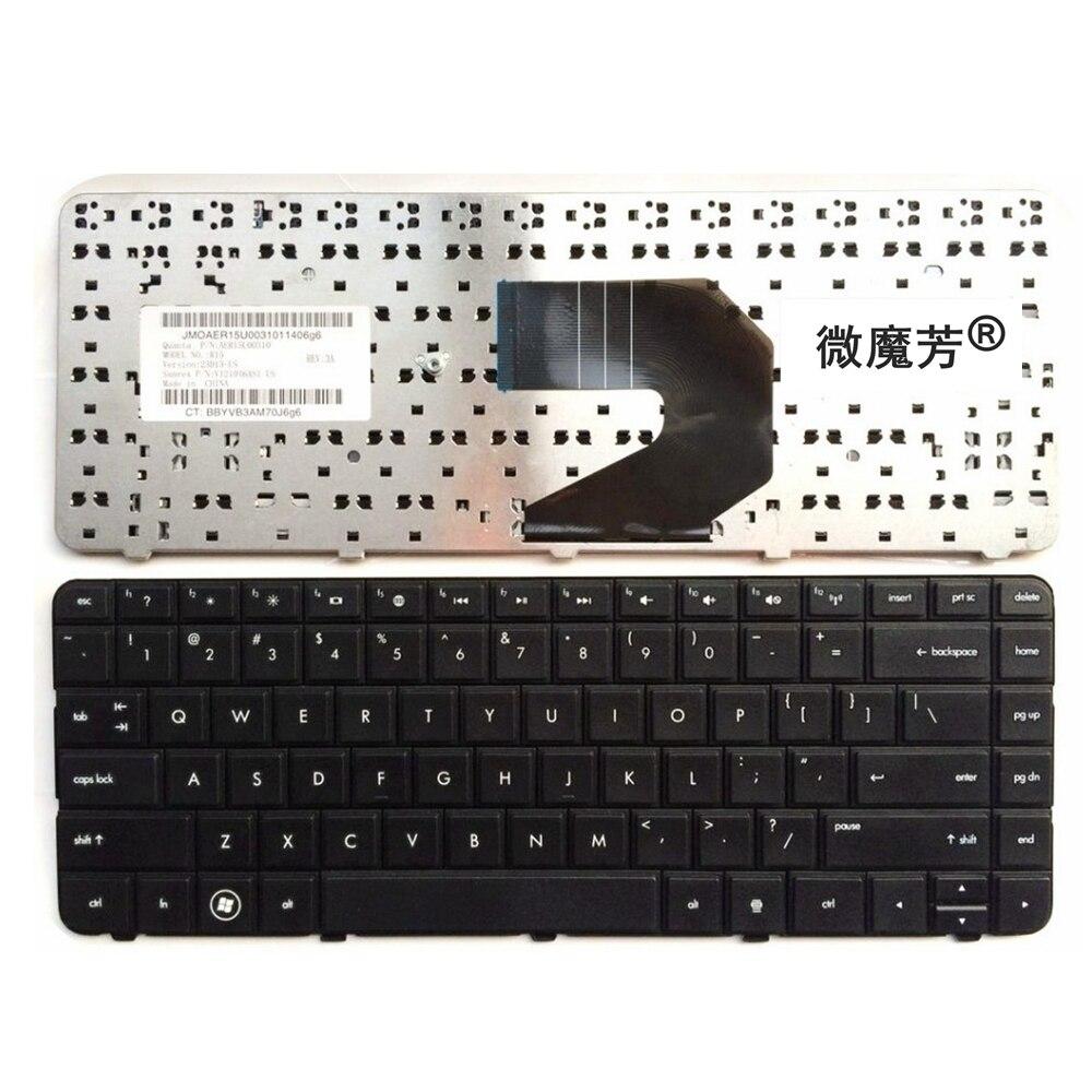 NÓS Substituir laptop teclado PARA HP TPN-1105 I105 F101 655 L105 1B01 2000 455 Q68C 450 Preto Novo Inglês (não g4-2000)