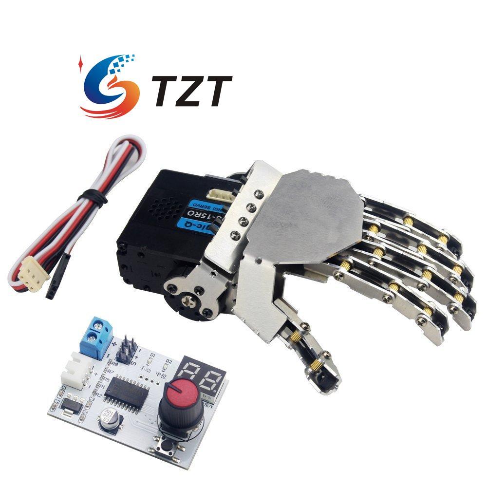 LewanSoul-جهاز اختبار مؤازر لليد الروبوتية ، 5 أصابع مع أجهزة رقمية ، جهاز اختبار يمين ويسار