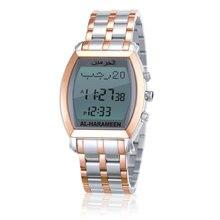 AL Harameen musulman Azan dame montre prière bracelet montre 6260 or haute élégant meilleurs produits musulmans 100% origine