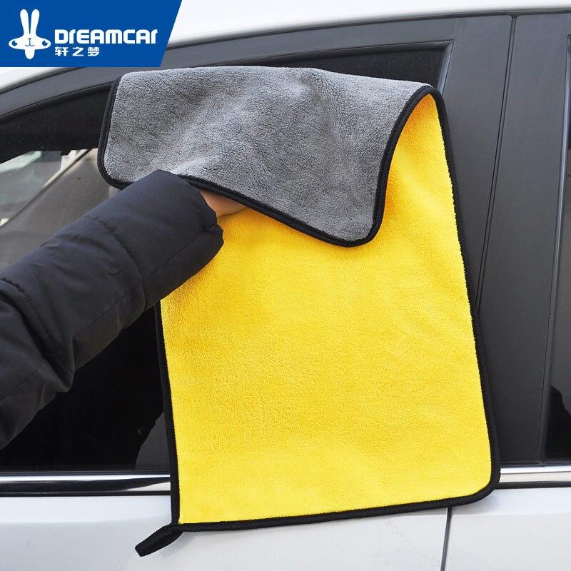 2018 Tamanho 30*60CM da Lavagem de Carro Carro Toalha De Microfibra Car Care Pano de Limpeza de Secagem Pano Bainha Carro Detalhando toalha de lavagem de carros