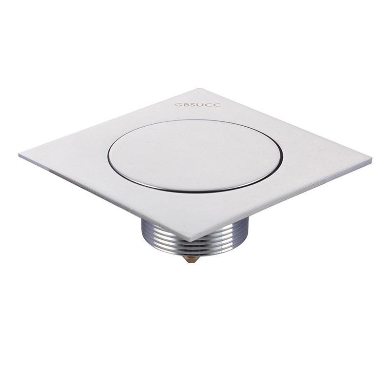 Pressure Floor Drain Press Bounce Opening Odor and Anti-backwater Drainer Bathroom Balcony Universal Drain Floor Drain 4 Inches
